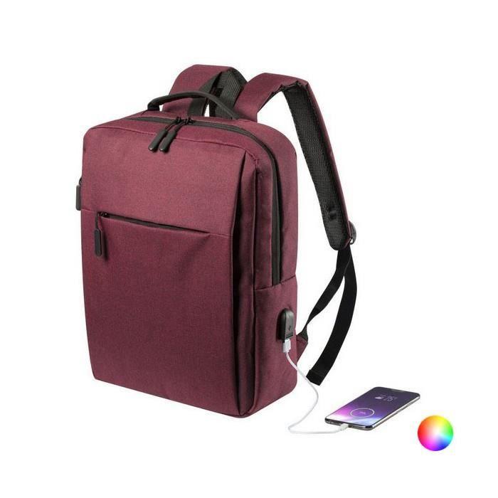 Sacs a dos et sacs sublime Couleur Rouge sac a dos pour portable et tablette avec sortie usb 146473