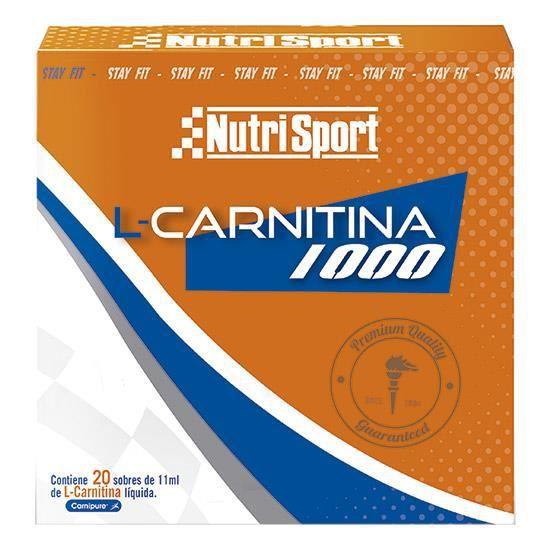 Gel NutriSport L-Carnitine 1000 (20 unités)