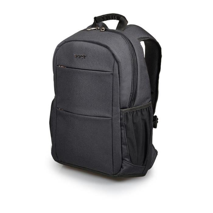 PORT DESIGNS Sac à dos Sydney - 2 poches avants - 2 poches intérieures - Compartiment ordianteur portable / tablette jusqu'à 13-14-