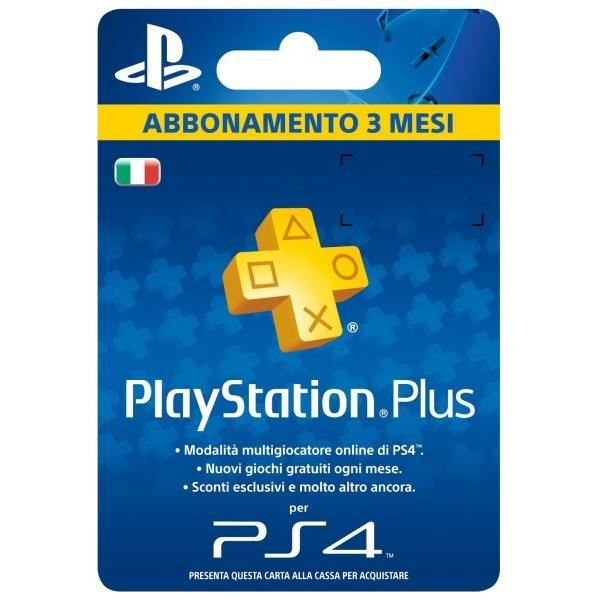 SONY PLAYSTATION PLUS CARD HANG 90 JOURS