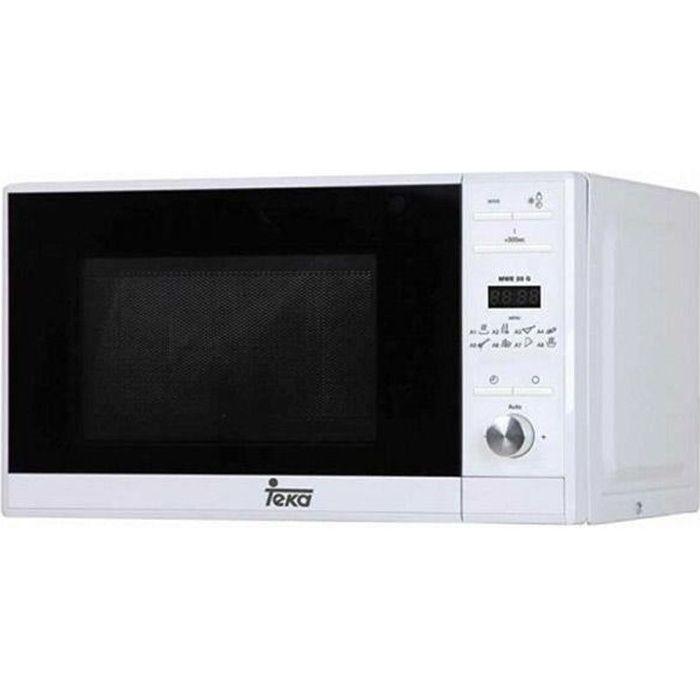 Micro-ondes avec Gril Teka MWE225G 20 L 700W Blanc