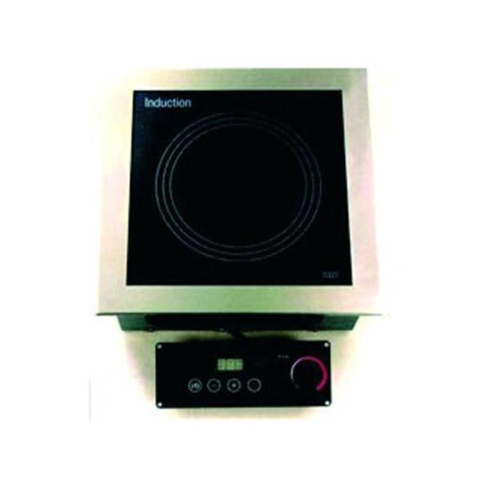 Plaque à induction encastrable simple foyer - L385 x P385 x H147 mm - VALERA