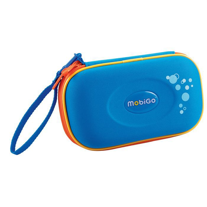 VTECH Sacoche Console Mobigo Bleue