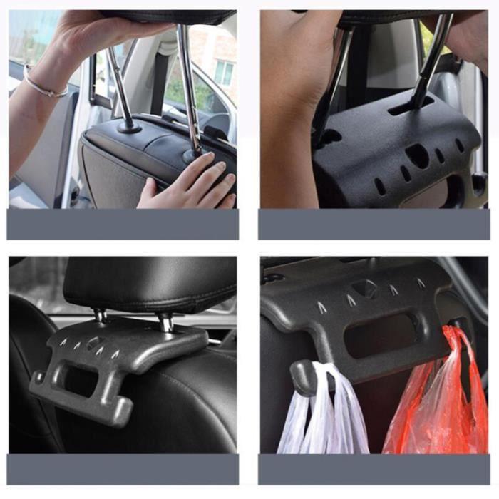 1PC voiture barre d'appui appui-tête Durable cintre siège arrière poignée antidérapante pour véhicule Auto
