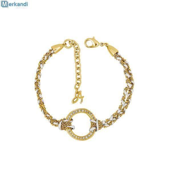 Bracelet ADORE by SWAROVSKI Organic Circle Braided