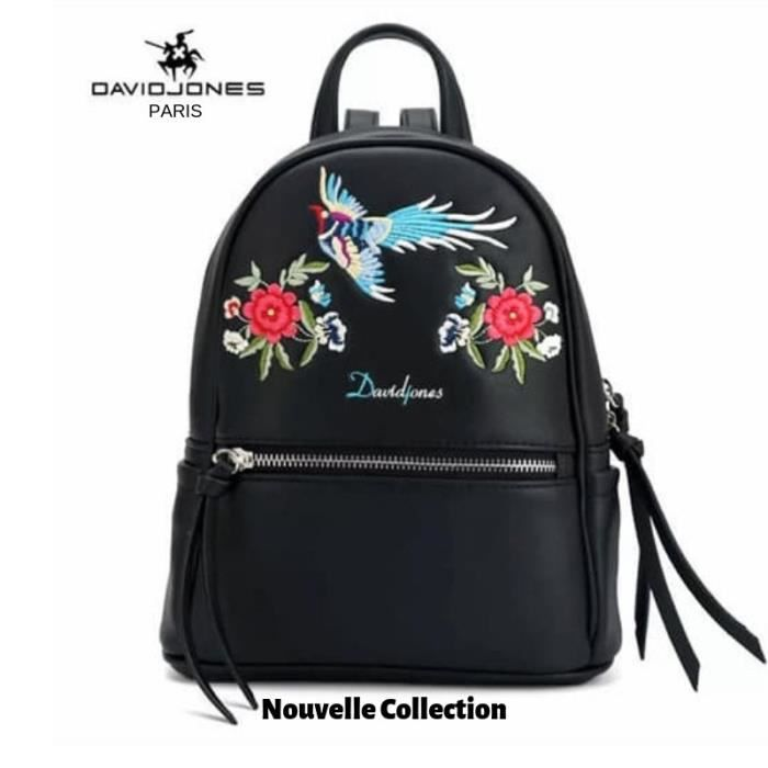 Nouvelle Femme Jones Luxe Noir Dos Collection A David Paris Sac A4jLq5R3
