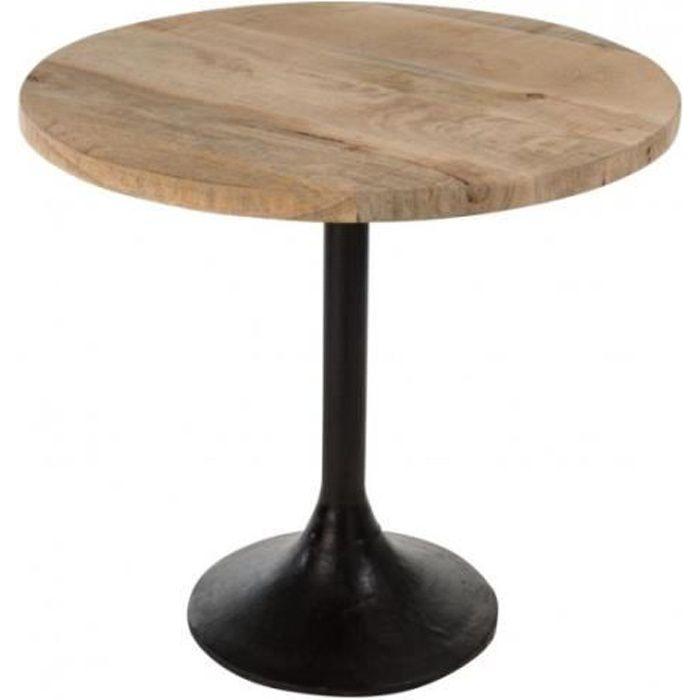 Table Bois Pied Central Extensible Achat Vente Pas Cher