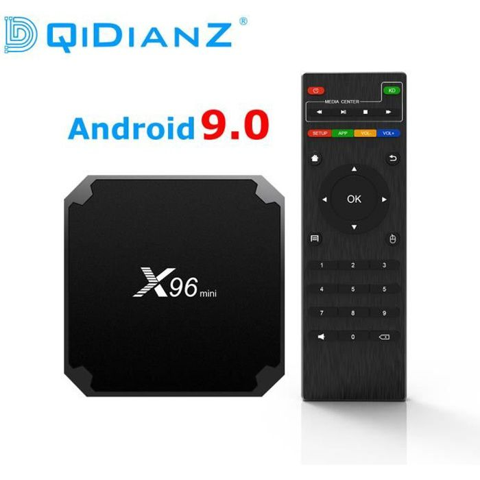BOX MULTIMEDIA Nouveau! ! ! Original X96mini 2GB+16GB Android 9.0