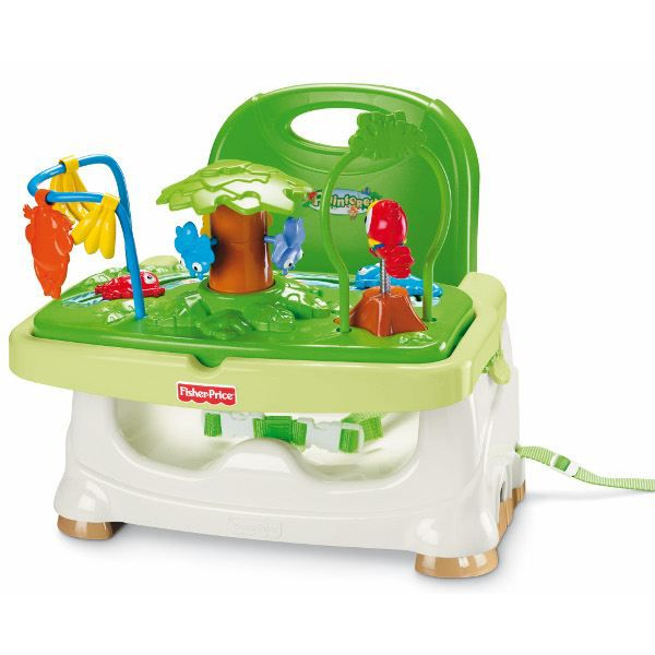 Fisher price si ge r hausseur jungle achat vente r hausseur si ge 0027084596489 cdiscount for Chaise 4 en 1 fisher price