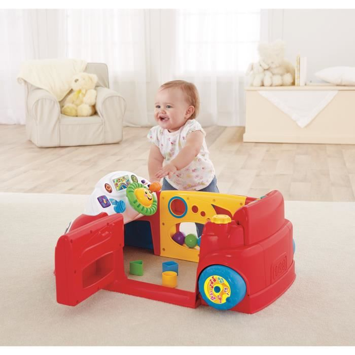 Fisher price ma voiture veil progressif achat vente jeu d 39 apprentissage cdiscount for Chaise 4 en 1 fisher price