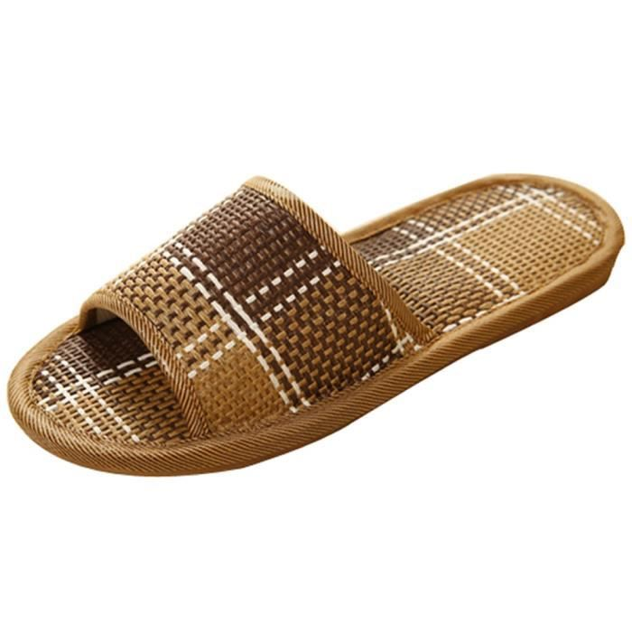 TONG Reservece  Unisex Cane Household Shoes Slippers Pl