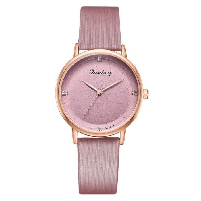 montre bracelet femme pas cher a la mode