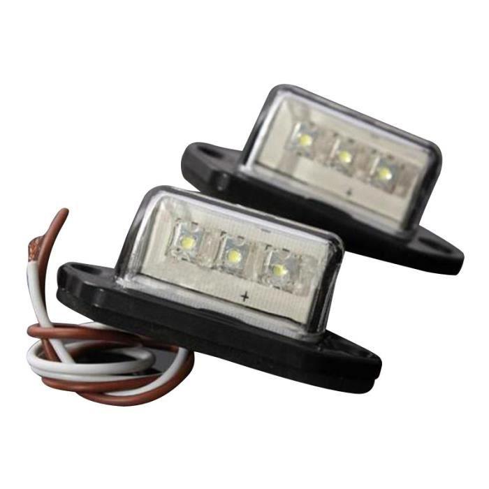 Top Lot de 2/LED SMD /Éclairage de plaque min/éralogique sans T/ÜV