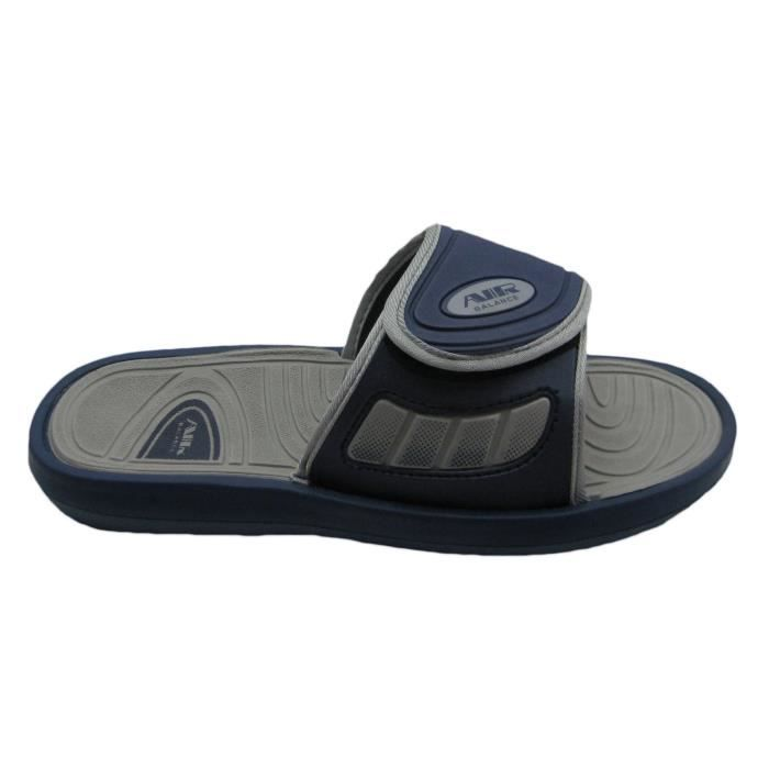 Air Men's Comfortable Shower Beach Sandal Slippers W-adjustable Strap In Classy Colors L49R4 Taille-46 N4BkvA