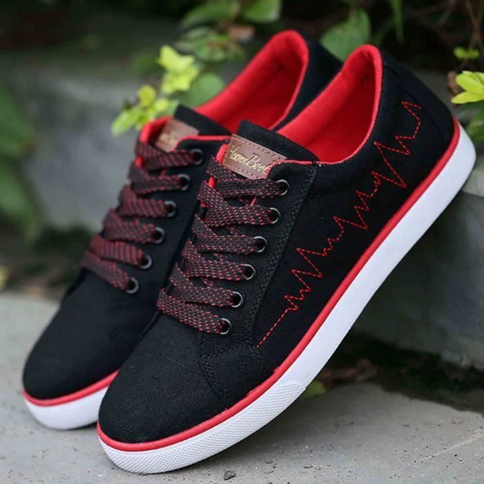 skateboard canvas shoes casual shoes men's shoe...