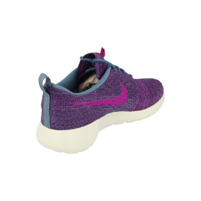 Nike Femmes Rosherun Flyknit Running Trainers 704927 Sneakers Chaussures