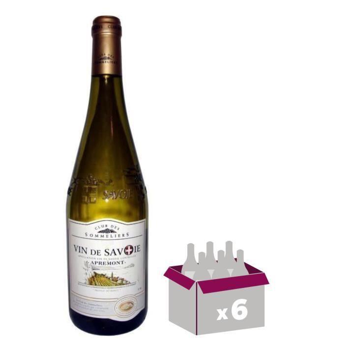 Club des Sommeliers 2018 Apremont - Vin blanc de Savoie