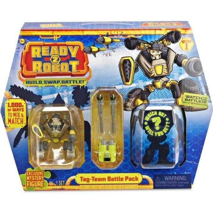 SPLASH TOYS 1 Capsule Ready 2 Robots Battle Pack Survivor - 4 Surprises
