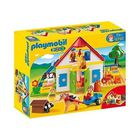 UNIVERS MINIATURE PLAYMOBIL 1.2.3. 6750 Coffret Ferme