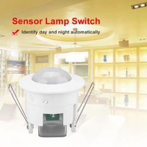 Plafonnier DEL avec détecteur de mouvement Infrarouge économie d/'énergie Maclean Lampe MCE131