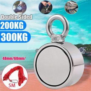 MATERIEL ENTRETIEN 200 - 300KG Double Side Néodyme Métal Aimant Détec