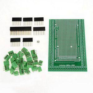RUNCCI 100 Pi/èces 300V 15A Bornier /à Vis Connecteur /à Vis de PCB Bleu 2 Broches pour Arduino