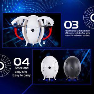 Einsgut RC H/élicopt/ère Mini H/élicopt/ère Volant UFO RC Drone Main Sensing Aircraft avec Lumi/ères LED /Électronique Quadcopter Jouets pour Enfants