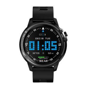 MONTRE CONNECTÉE Montre Connectée ECG + PPG Noir,Fitness Tracker Pr
