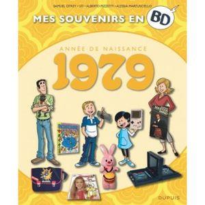 COFFRET CADEAU SOUVENIR Mes souvenirs en BD : Année de naissance 1979