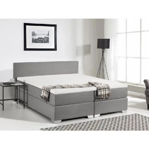 lit adulte avec sommier et matelas achat vente lit. Black Bedroom Furniture Sets. Home Design Ideas