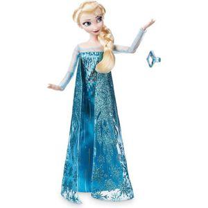 POUPÉE Poupée DISNEY La reine des neiges ELSA avec bague