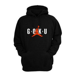 SWEATSHIRT Sweat shirt à capuche Air goku rouge Noir
