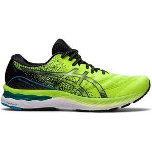 Chaussures running asics gel nimbus 19 homme bleu asics - Cdiscount