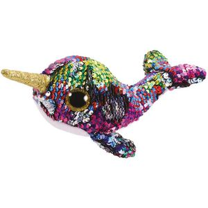 PELUCHE Ty- Flippables Small-Peluche Sequins Calypso Le na