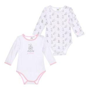 BODY Set de 2 bodies bébé Fille WINNIE - 100% coton Bla