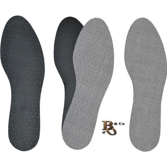pour des Chaussures Et des Pieds Hygi/éniques Et Frais Semelles Au Charbon Actif 8 Paires pour La R/égulation du Climat ,Grey-35