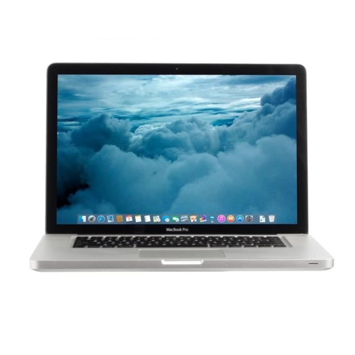 MacBook Pro 15- Core i7 SSD 500Go 8Go RAM