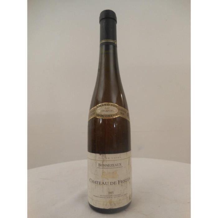 50 cl bonnezeaux château de fesles liquoreux 1995 - loire - anjou france
