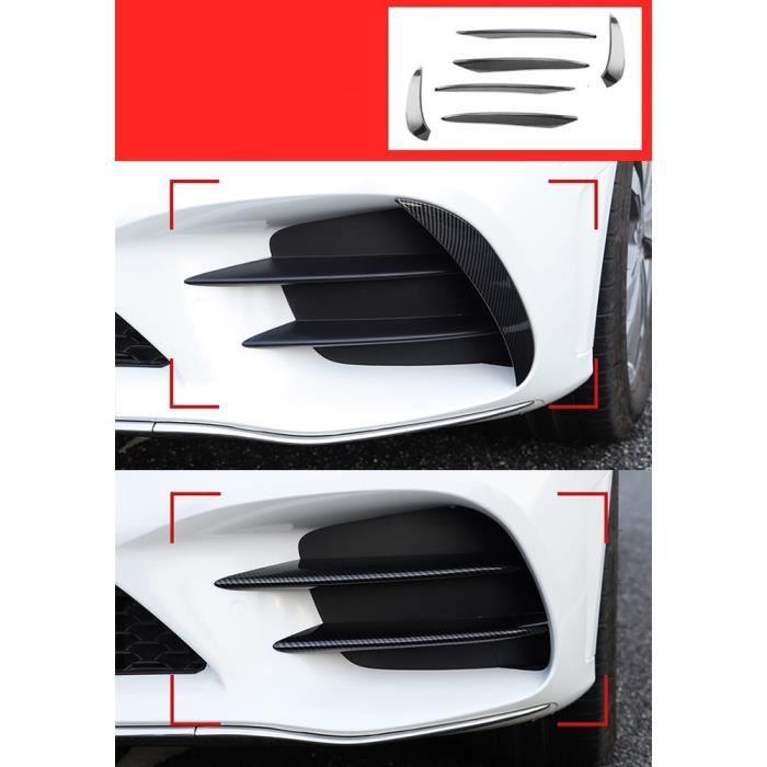 Amenagement Interieur,Coiffure de voiture pour Mercedes Benz C classe W205 C43 C63 pour AMG feu - Type short Carbon fiber