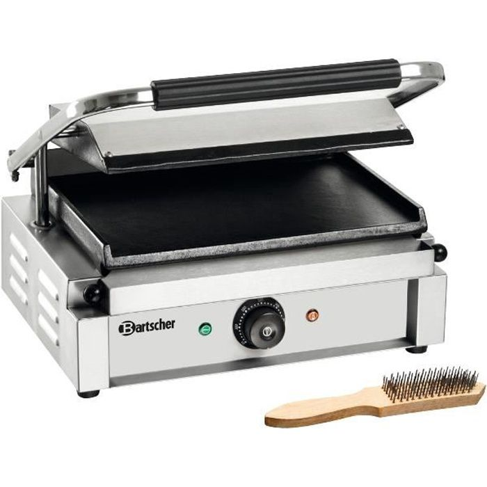 Grill professionnel  Panini  plaques lisse
