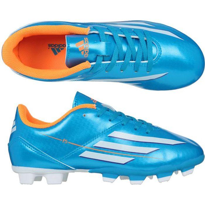 ADIDAS Chaussures de Foot F5 Trx Terrain Sec Fg Junior
