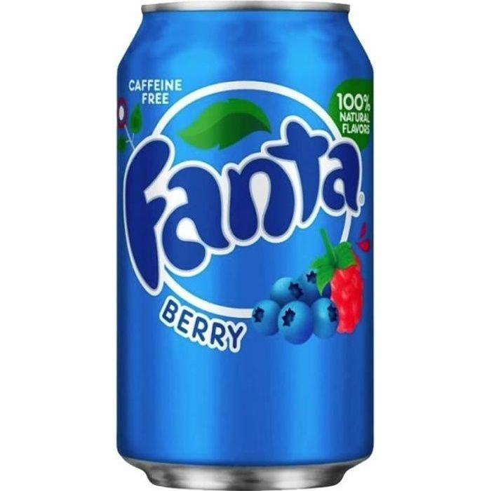 Fanta - Fanta Blueberry 35,5cl (pack de 12)