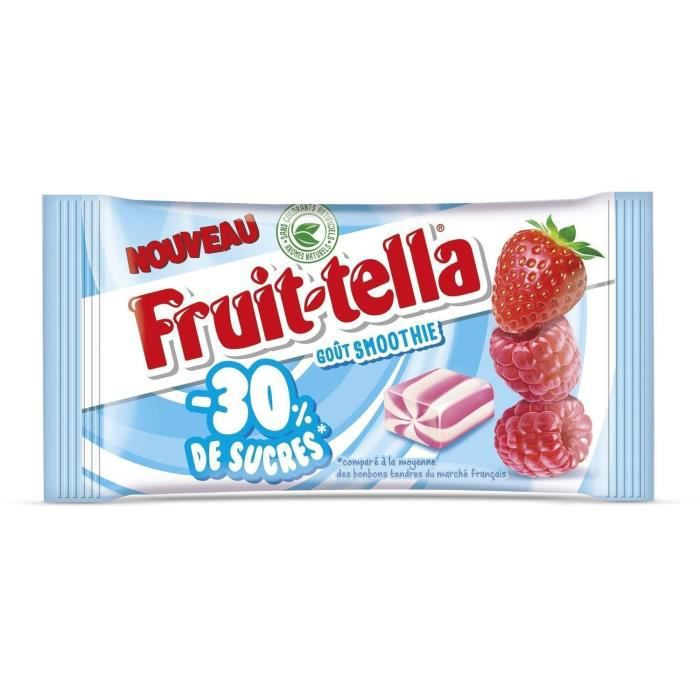 FRUITTELLA Bonbon 30% de sucres - 28g - Smoothie