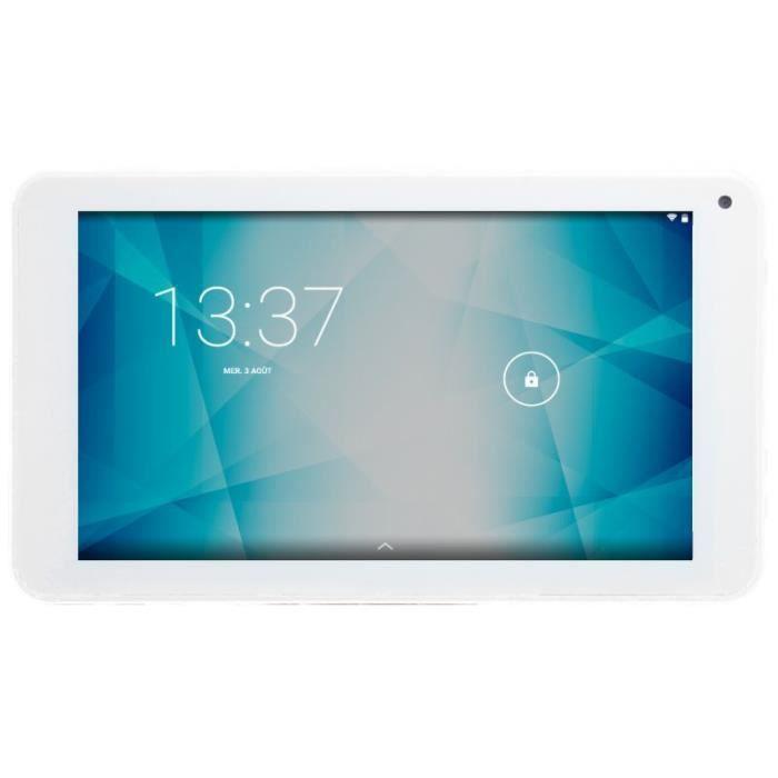 Konrow Tablette 7'' Hd Ram 1Go Stockage 8 Go Android 6 Blanc