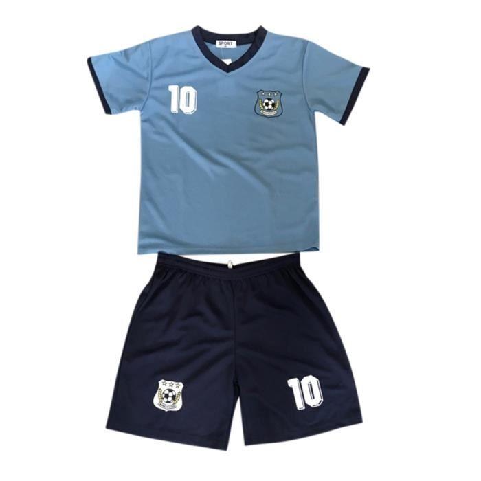 Ensemble De Vetements De Football - Tenue De Football - NPZ - Ensemble short et maillot de foot Manchester City enfant Taille de 2