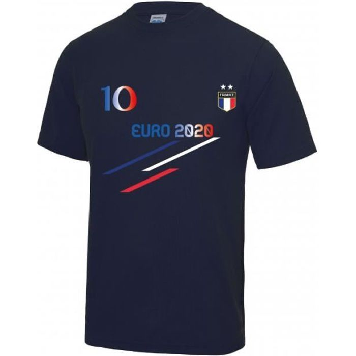 bleu Tee shirt foot France Euro 202