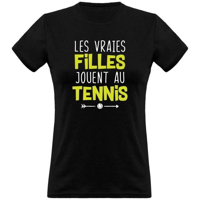 tee shirt femme humour - Cadeau imprimé en France - 100% coton, 185gr - les vraies jouent au
