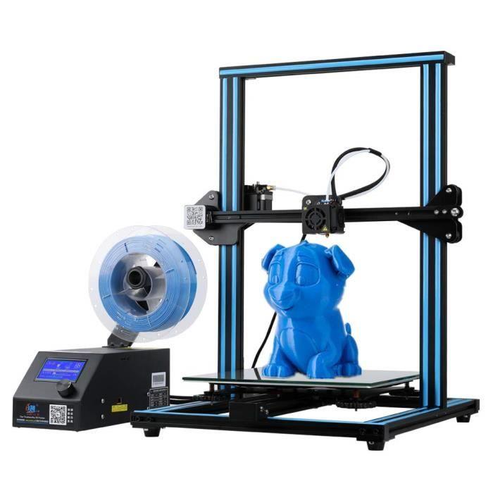 Cr 10 Imprimante 3D, bricolage écran Lcd de bureau d'affichage, Haute précision, qualité industrielle, de grande taille d'impression
