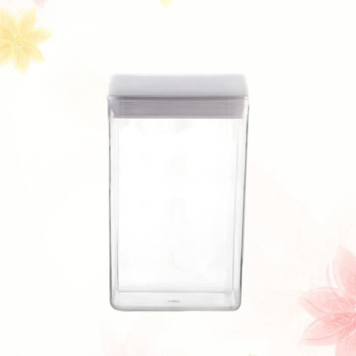 Food-grade Grains Storage Tank Airtight Jar Sealed Can Food Classification Container (Size S) COFFRET DE MAQUILLAGE