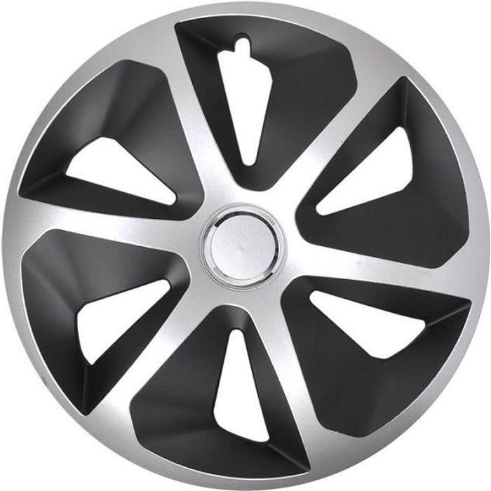 ProPlus hubcap Roco 16 pouces ABS noir / argent pièce